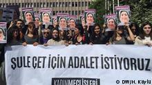 Frauen-Proteste in Ankara, Şule Çet Prozess