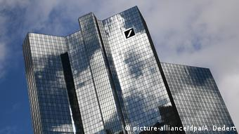 Frankfurt/Main: Die Zentrale der Deutschen Bank