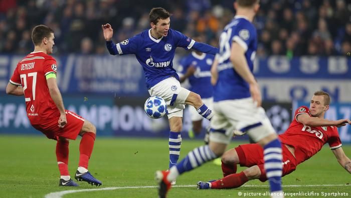 CL FC Schalke 04 - Lokomotive Moskau Benjamin Goller (picture-alliance/augenklick/firo Sportphoto)