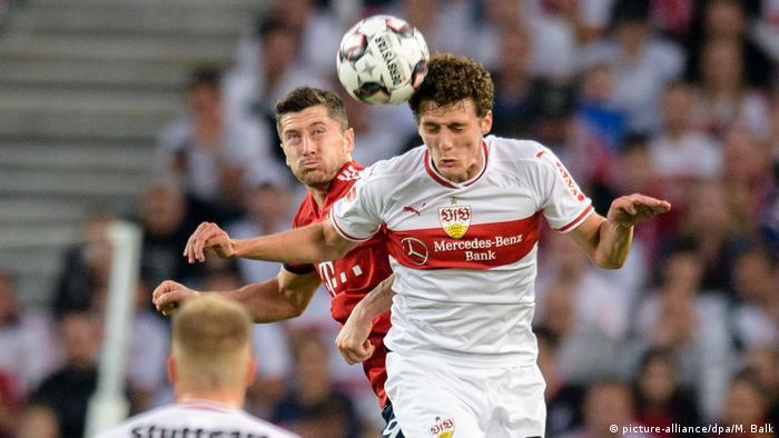 VfB Stuttgart Benjamin Pavard (picture-alliance/dpa/M. Balk)