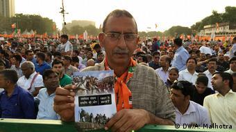 Wahlkampagne des indischen Premiers, Narendra Modi, in Neu Delhi