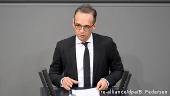 Bundestag Debatte Iran-Abkommen Heiko Maas (picture-alliance/dpa/B. Pedersen)