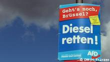 AfD election poster
