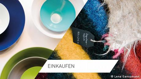 Online-Special Planet Berlin: Fotomontage zur Bebilderung der Kategorie Einkaufen (Fotos: Lena Ganssmann)