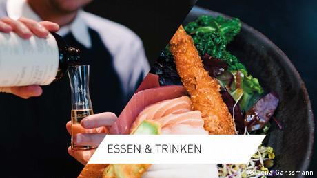 Online-Special Planet Berlin: Fotomontage zur Bebilderung der Kategorie Essen & Trinken (Fotos: Lena Ganssmann)