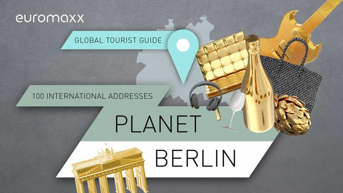 Logo online special Planet Berlin (Copyright: DW)
