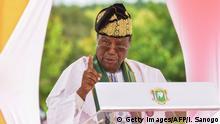 Benin 2017   Nicephore Soglo, ehemaliger Präsident