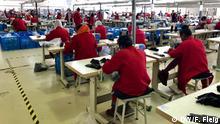 Arbeiterinnen in einem der staatlich betriebenen Industrieparks außerhalb von Addis Abeba.