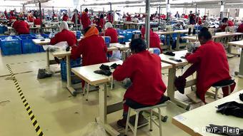 Αιθιοπία βιομηχανία ένδυσης