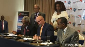 Global Alliance-Spende für vertriebene Äthiopier