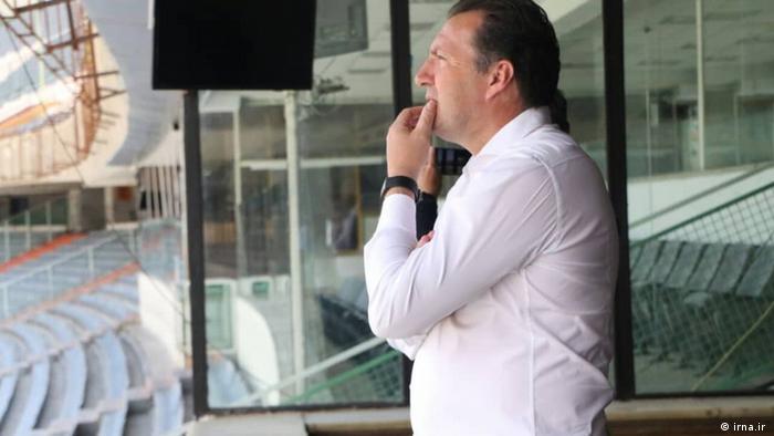 مارک ویلموتس، سرمربی سابق تیم ملی فوتبال ایران (عکس از آرشیو)