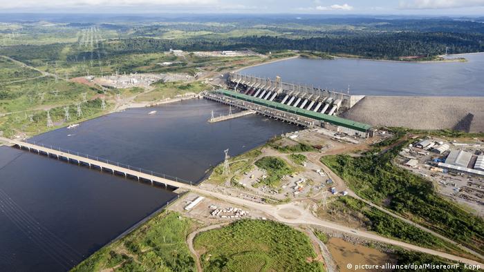 Usina de Belo Monte, PA, Brasil.