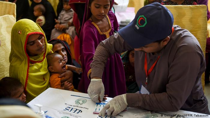 Pakistan HIV-Test (Getty Images/AFP/R. Tabassum)