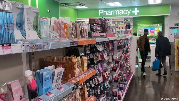 Foto de una farmacia en Londres