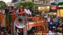 Indien Priyanka Gandhi Vadra beim Wahlkampf in Varanasi
