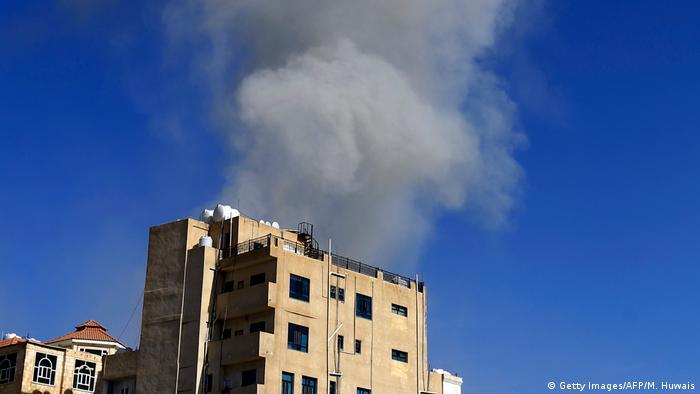 Jemen Sanaa Luftangriffe der Saudis