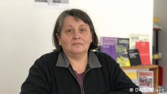 Serbien Milica Lupsor von der Organisation Rosa in Zrenjanin (DW/S. Kljajic)