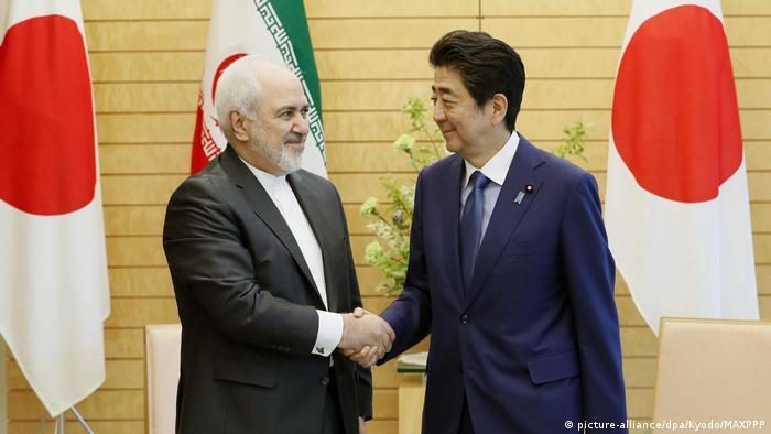 سفر محمدجواد ظریف، وزیر امورخارجه ایران به ژاپن، توکیو ۱۶ مه ۲۰۱۹