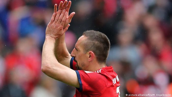 Fußball FC Bayern München Franck Ribery (picture-alliance/firo/M. Engelbrecht)