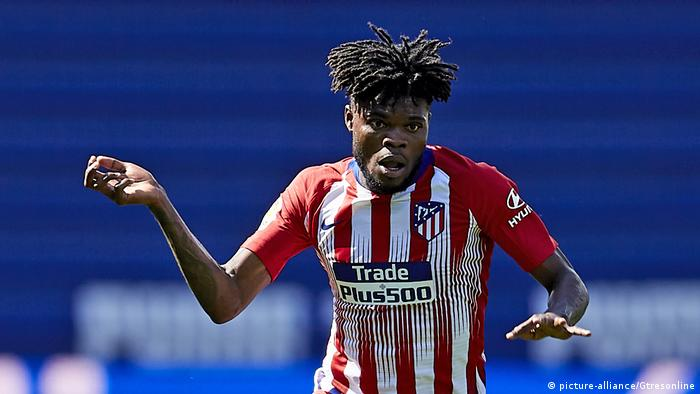 Thomas Teye Partey Atletico Madrid (picture-alliance/Gtresonline)