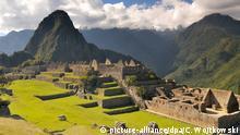 Massentourismus Machu Picchu