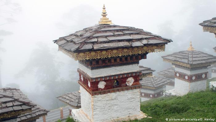 Massentourismus Bhutan (picture-alliance/dpa/D. Henley)