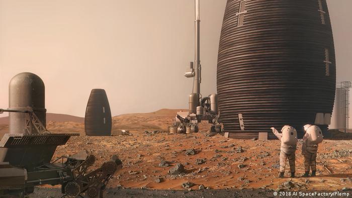 Zgrade izgrađene na nekoj drugoj planeti