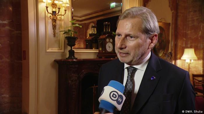Povjerenik za proširenje EU-a Johannes Hahn
