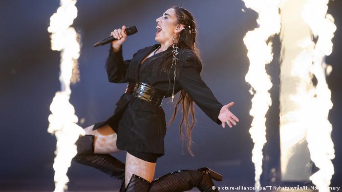 ESC 2019 Eurovision Song Contest Srbuk Armenien (picture-alliance/dpa/TT Nyhetsbyrån/H. Montgomery)