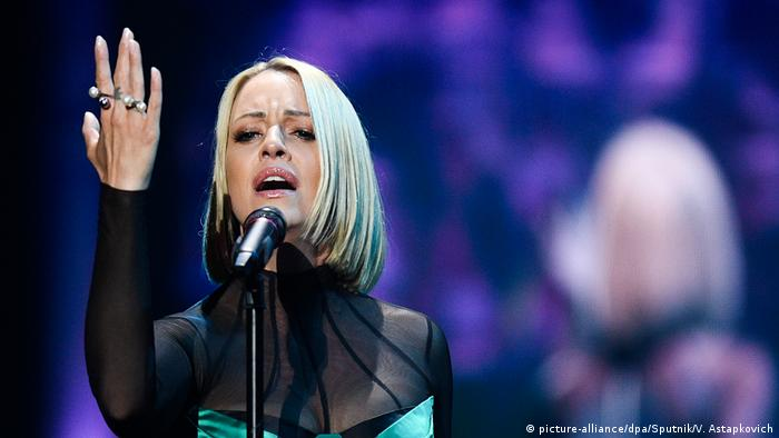 ESC 2019 Eurovision Song Contest Tamara Todevska from North Macedonia (picture-alliance/dpa/Sputnik/V. Astapkovich)
