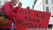 Freiburg - Kirchenstreik Maria 2.0