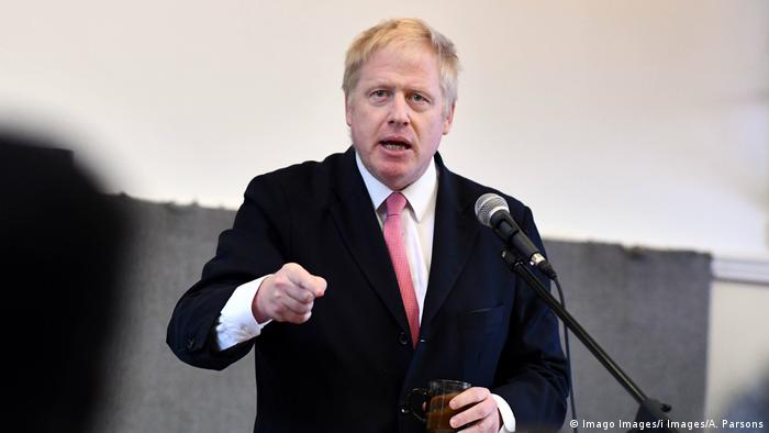 Former British Foreign Minister Boris Johnson (Imago Images/i Images/A. Parsons)