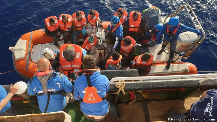 Italy's Matteo Salvini wants hefty fines for migrant rescue vessels