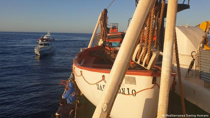 Mediterranea Saving Humans rescues people in distress at sea