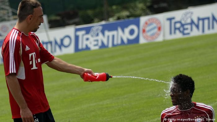 Fußball Bundesliga FC Bayern München Spieler Franck Ribery