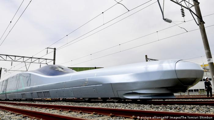 JR East Japan Railway Company's ALFA-X next-generation Shinkansen high-speed train