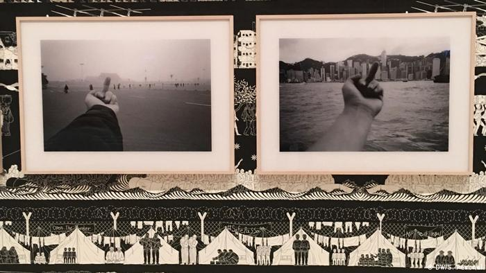 Black and white photographs next to one another (DW/S. Peschel)