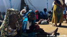 Mosambik - Lebensmittelverteilung für die Überlebende von Zyklon Idai