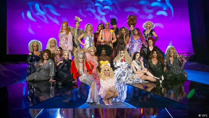 The cast of Rupaul's Drag Race Season 10 ON VH1