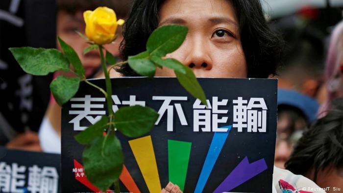 Taiwan führt als erstes asiatisches Land die Homo-Ehe ein (Reuters/T. Siu)