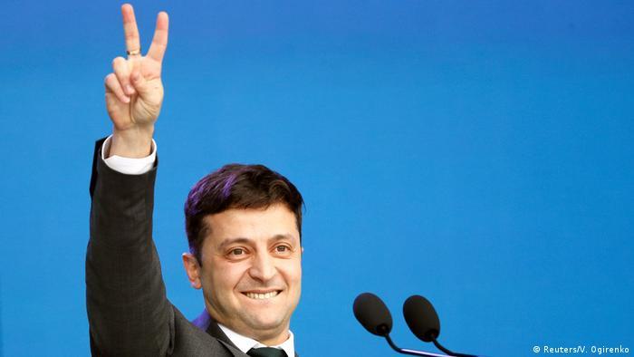 Ukraine Wahl Wolodymyr Selenskyj