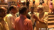 Indien Varanasi Modi Doppelgänger