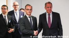 Europarat Außenministertreffen Finnland Sergej Lawrow Heiko Maas