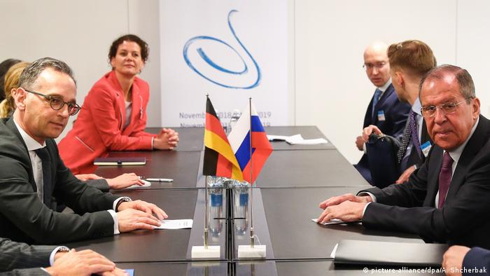 Russia's Sergey Lavrov meets with Germany's Heiko Maas in Helsinki (picture-alliance/dpa/A. Shcherbak)