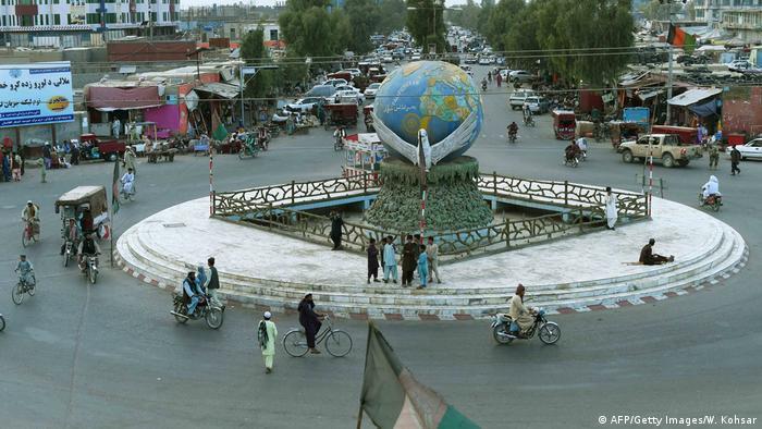 Zentrum von Lashkar Gah, Afghanistan