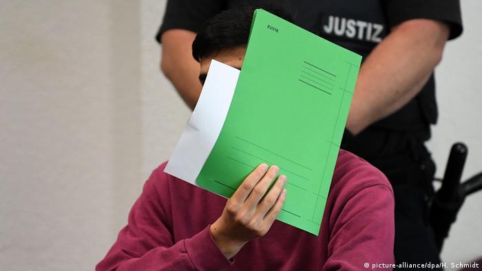 Один из обвиняемых по делу об убийстве немца Маркуса Б. в Кётене в 2018 году