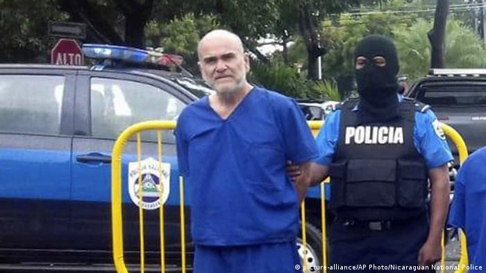 Eddy Antonio Montes Praslin (picture-alliance/AP Photo/Nicaraguan National Police)