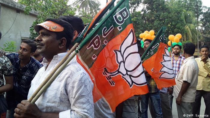 BJP Rally (DW/P. Samanta)