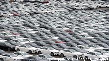 Deutschland Bremerhaven | Neuwagen Mercedes-Benz - Autoterminal der BLG Logistics Group
