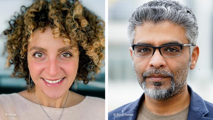 GMF Teilnehmer Jasmin Bauomy und Yasir Khan